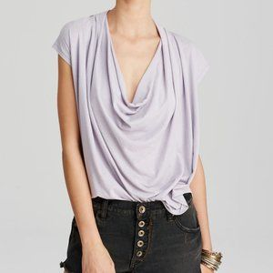 NWT Free People Fantasy Cowl Neck Tee